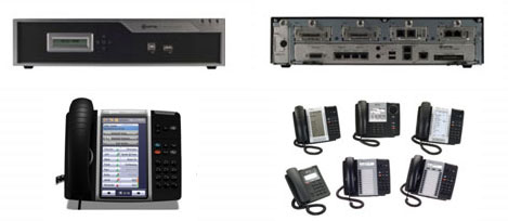 Mitel business phone system component