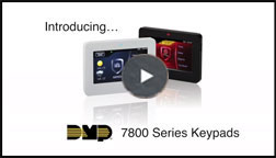 Security Systems in Maryland - DMP 7800 Series Keypads